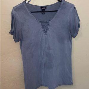 Rue21 gray short sleeve